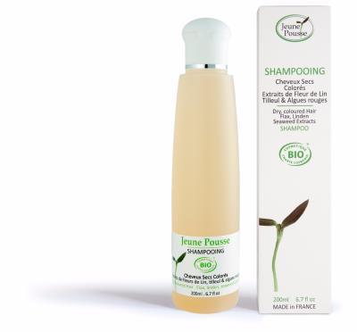 shampoing bio cheveux sec fleur de lin tilleul - Shampoing Bio Cheveux Colors